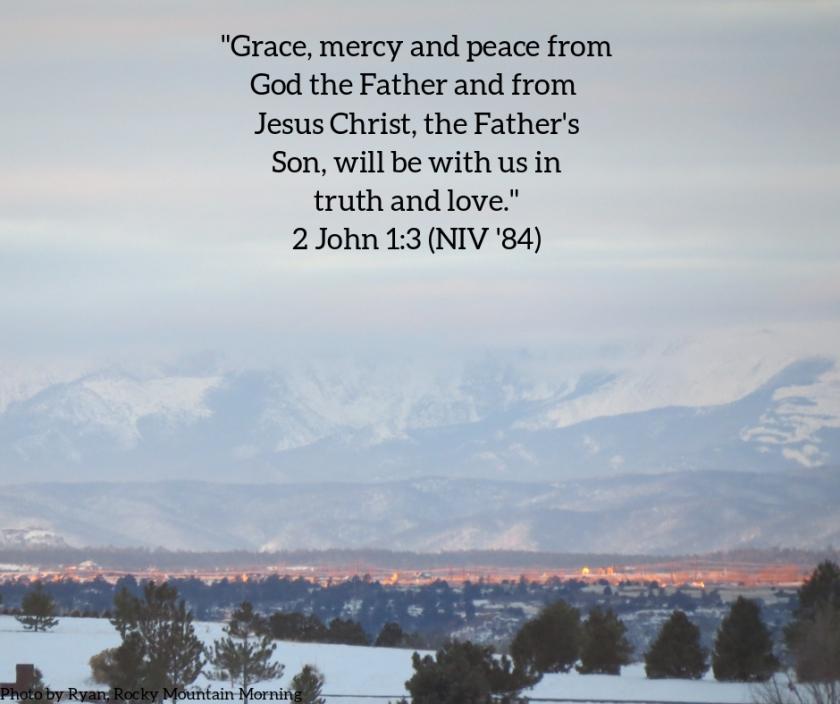 Pic quote 2 John 1 v 3