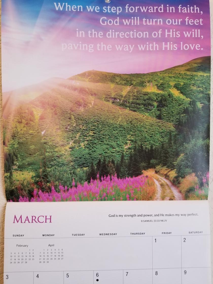 March calendar 2