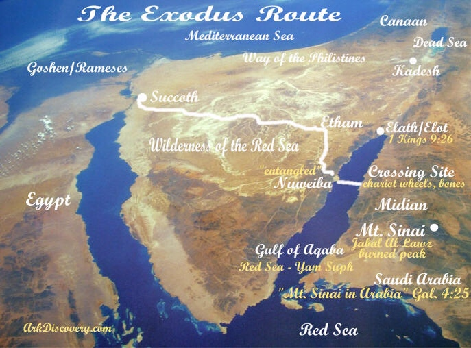The Exodus Route