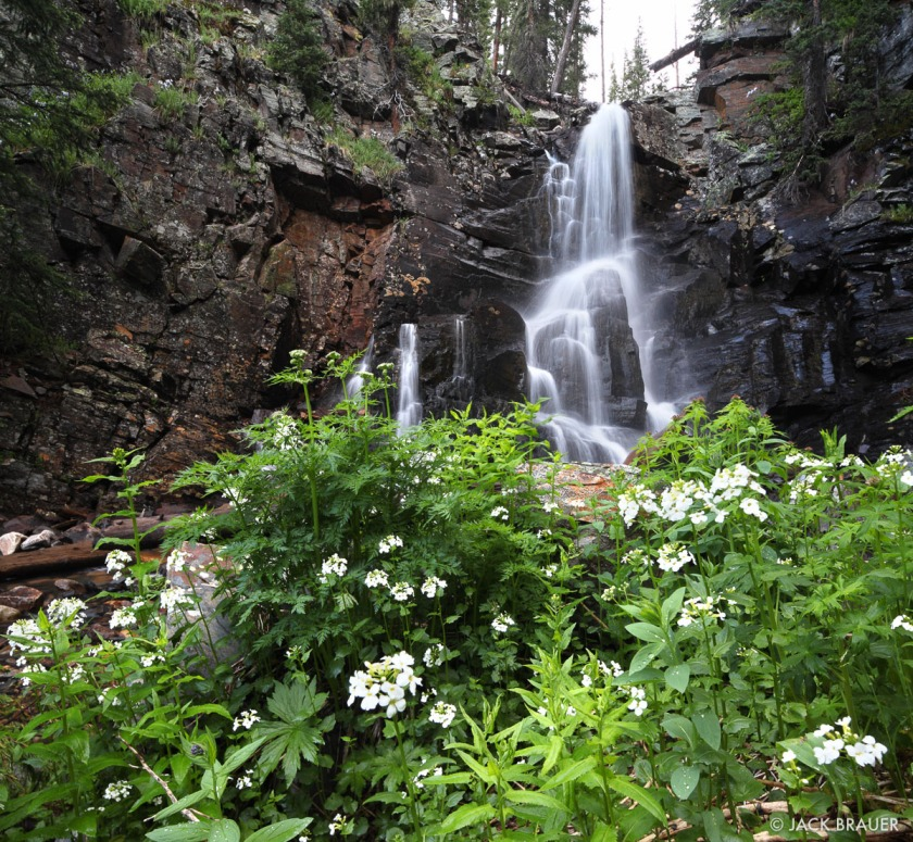 Vallecito Waterfall