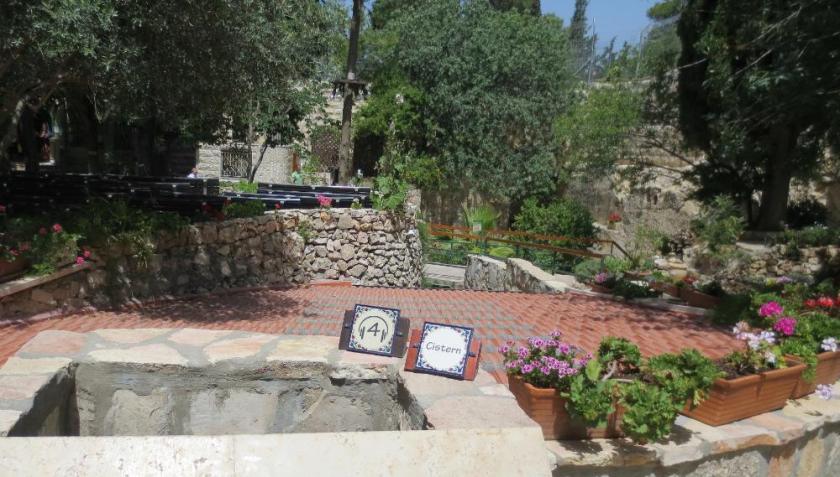Garden Tomb cistern