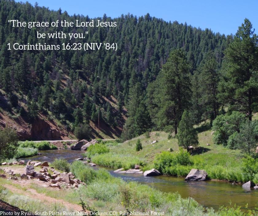Pic quote 1 Corinthians 16 v 23