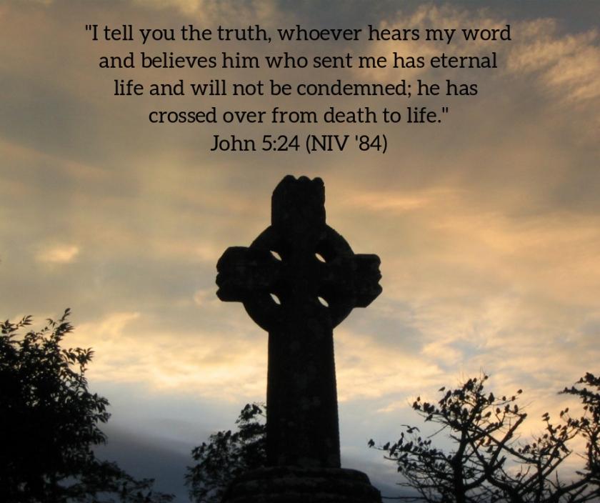 Pic quote John 5 v 24