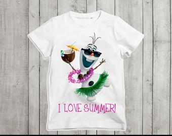 Olaf I love summer