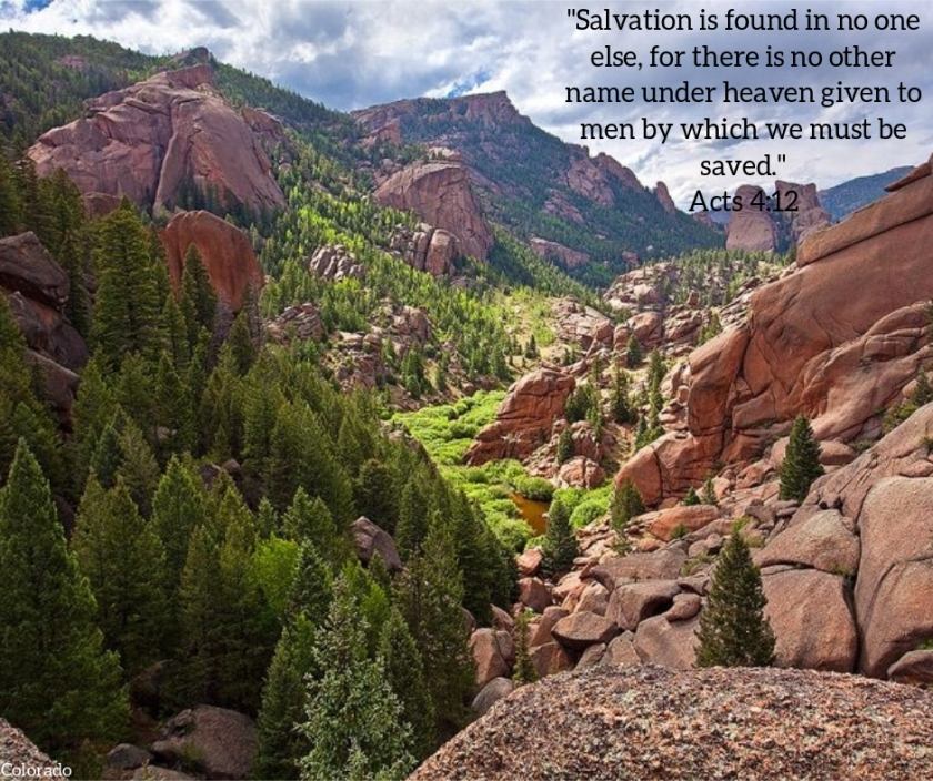 Pic quote Acts 4 v 12 colorado