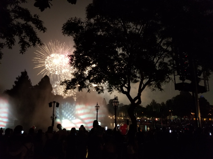 Cali Disneyland 4th of July