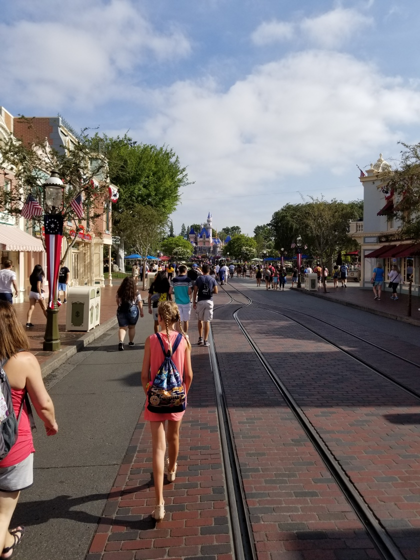 Cali Disneyland mainstreet