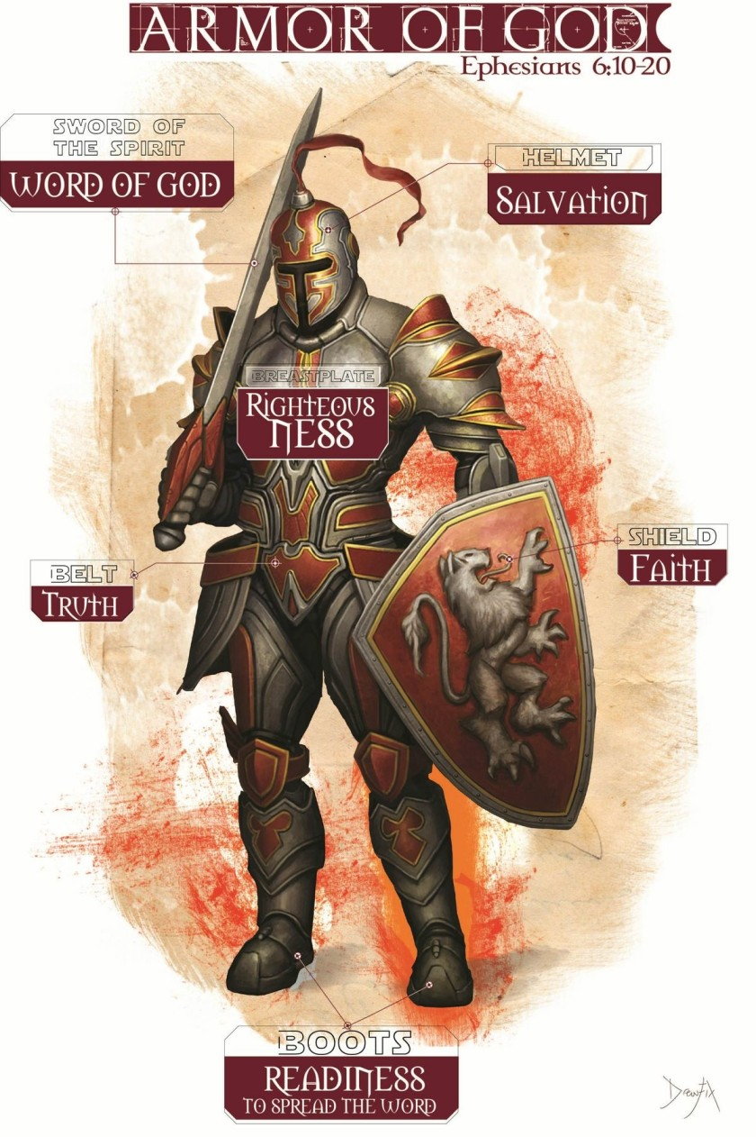 Armor of God suit