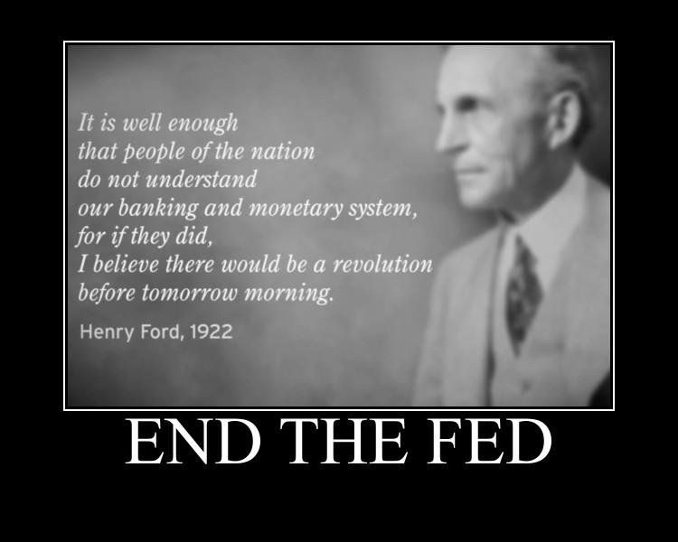 Fed Reserve Henry Ford quote