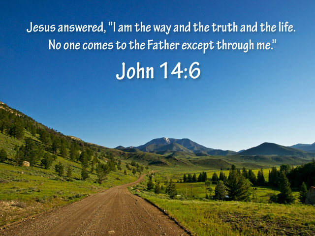 Pic quote John 14 v 6