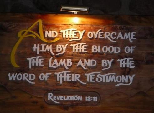 Pic quote Rev 12 v 11
