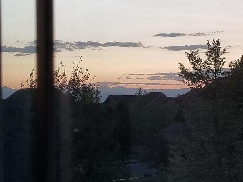Sunset august 2019