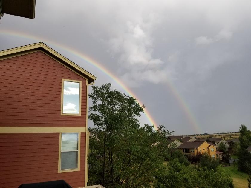 Double Rainbow 9-8-19
