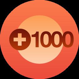 1000 pin