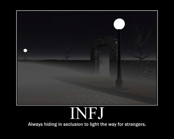 INFJ light the way