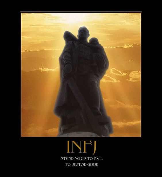 INFJ standing up