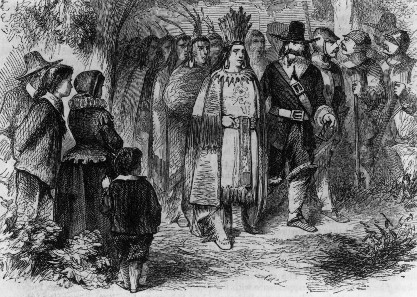 Natives and Pilgrims