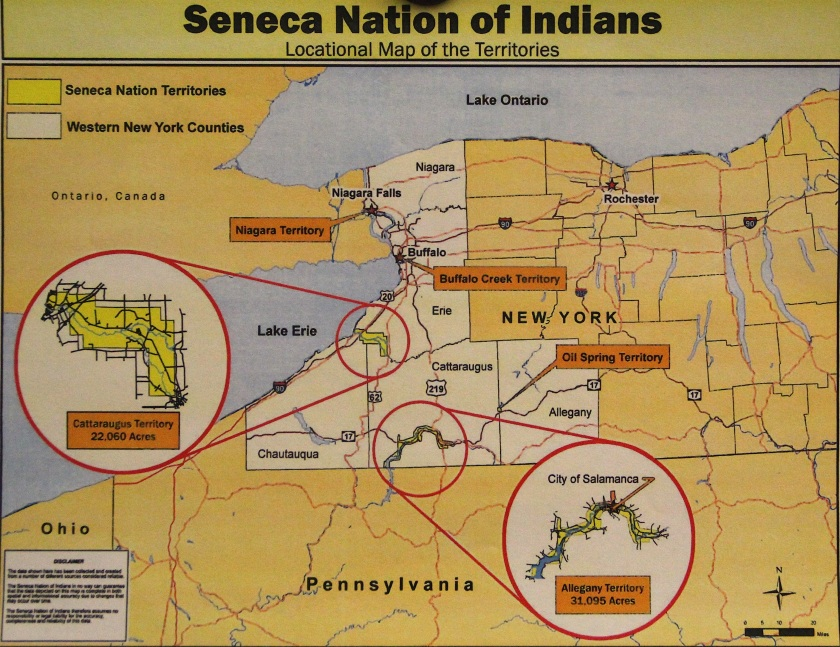 Seneca Nation map