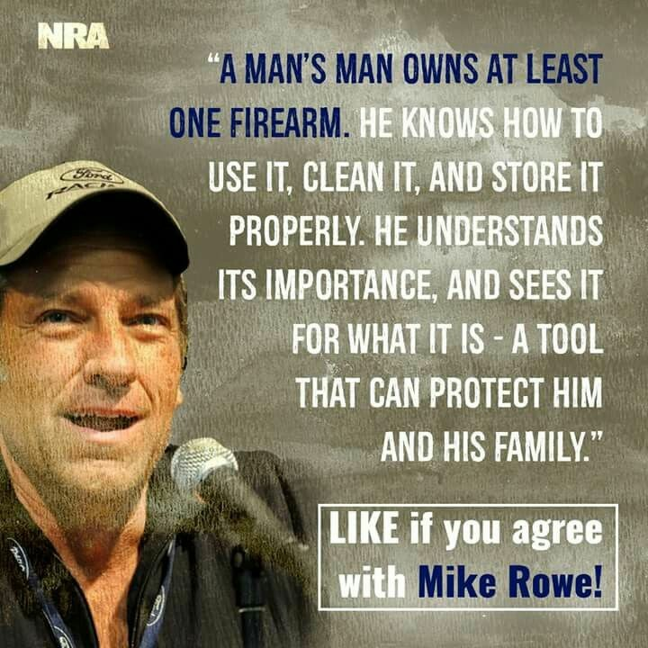 Mike Rowe on guns