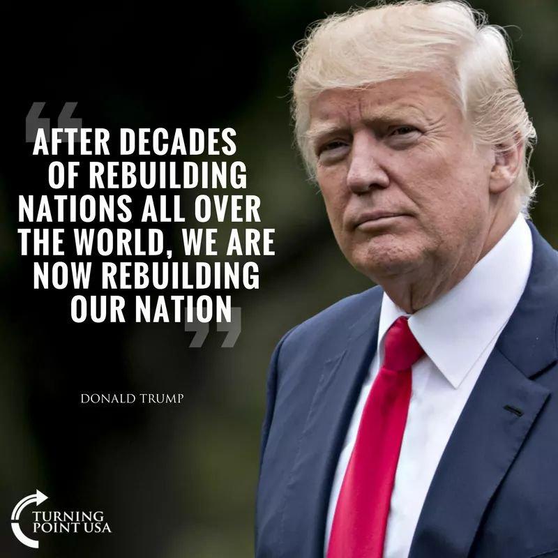 Trump quote rebuild our nation