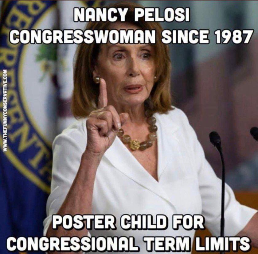 Pelosi term limits