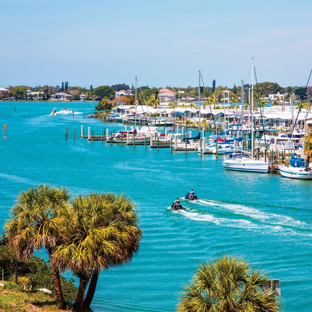 Gulf Intercoastal Waterway in Venice Florida